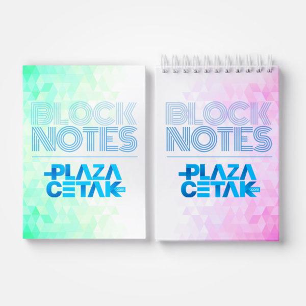 cetak bloknote notes murah