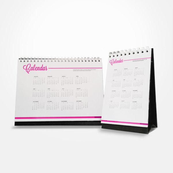 cetak kalender meja murah