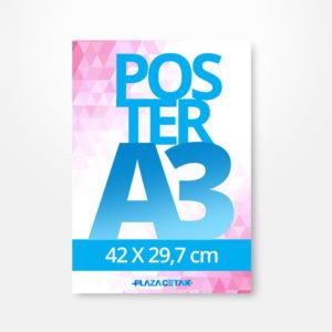 cetak poster A3 murah